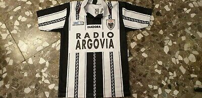 shirt vintage Aarau super League 1996-1997 Diadora Radio Argovia