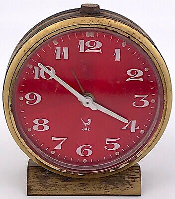 Jaz Alarm Working Hand Manual Vintage Ringtone Clock Alarm 64 mm 3WC