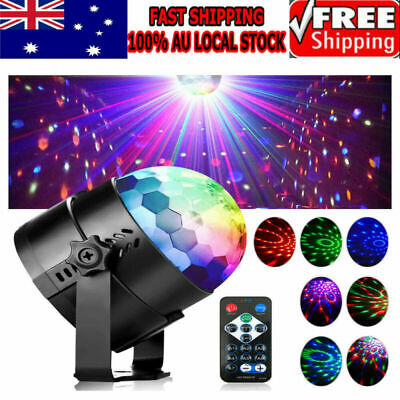 Sound-activated LED Projector Stage Light DJ KTV Disco Party Lamp Remote Control
