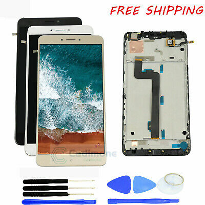 LCD Screen For Xiaomi Mi Max 2 Display Touch Frame Digitizer Assembly White AAA