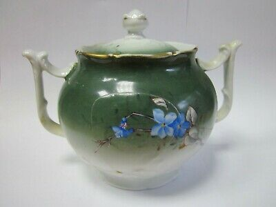 Antique Collectible Gardner 19th Imperial Porcelain RUSSIAN EMPIRE Sugar bowl