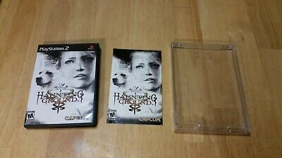 Haunting Ground (Sony PlayStation 2, PS2) Complete with the case and manual