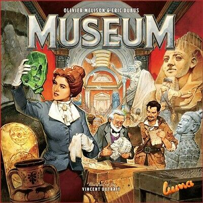 Museum - Strategy Board Game