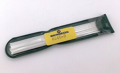 Bergeon 6240-D Brush Fibre Glass Removes Rust Oxide Watch New 3WC-