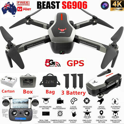 Beast SG906 5G Wifi GPS FPV Drone With 4K HD Camera Foldable RC Quadcopter Drone