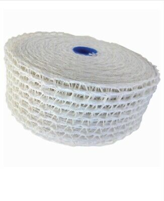 Scotnet Meat Netting 80mm White 100 Meter Roll Tensioned. Butcher Smallgoods
