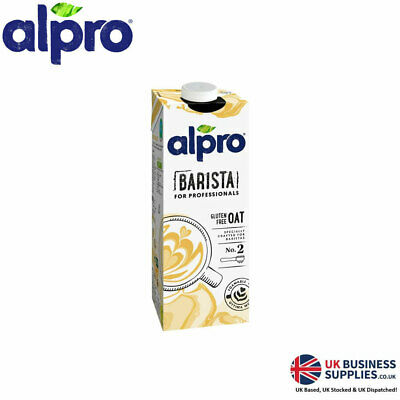 Alpro for Professionals Organic Oat Milk Alternative 1 Litre (12 Cartons)