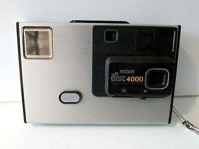 Vintage Kodak Disc 4000 Camera  Instruction Booklet and Case - UNTESTED FREE P/P
