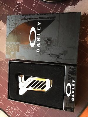 Oakley Metalworks Money Clip - Boxed New