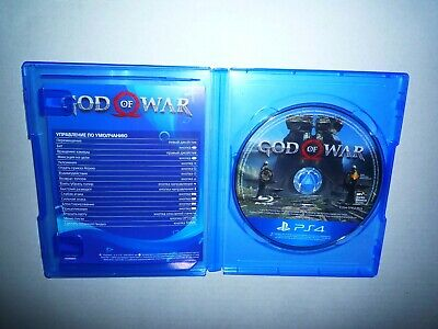 God of War PS4 (Russian Release, English and Russian Sound) no cover, disc only.