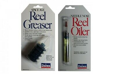 DAIWA REEL GREASER or Oil Reel Maintenance Lubrication Tool Oiler Fishing