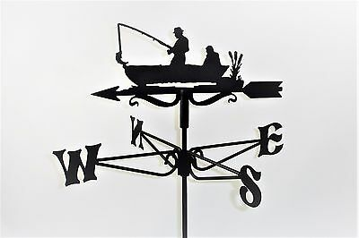 Fisherman Metal Weathervane