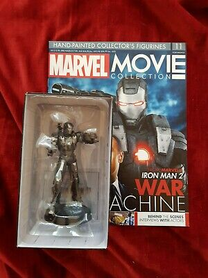IRON MAN WAR MACHINE MARVEL MOVIE FIGUR EAGLEMOSS COLLECTION mit Magazin