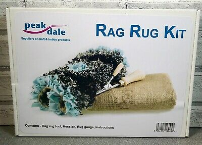 Peak Dale Rag Rug Kit RUGKIT Hobby Crafting