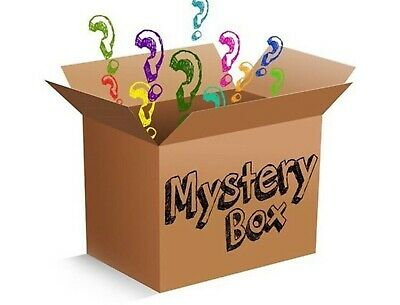 Mystery box new electric, clothing toys games , dvds, all new 7 items