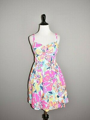 d2ed571f0be2b1 LILLY PULITZER NEW $168 Besame Mucho Christine Sundress Size 8 ...