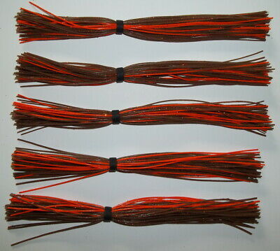 """R.I.Golden Shiner 10 Custom Made Silicone Spinnerbait Skirts -Bass Fishing-/""""NEW/"""""""