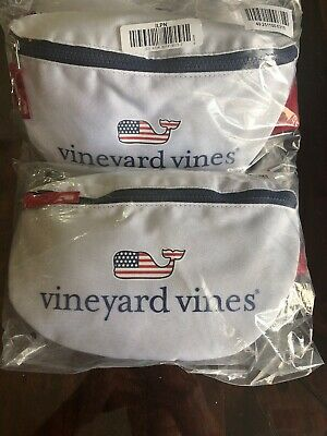 Vineyard Vines for Target NWT Fanny Pack Whale Red White Blue Exclusive IN HAND