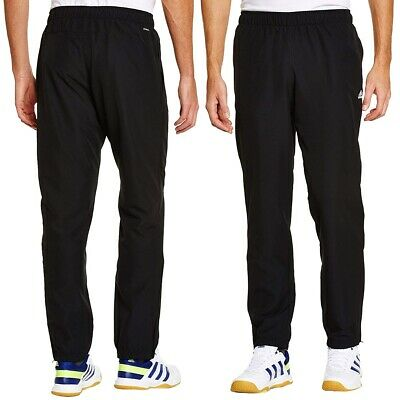 Adidas Essentials Training Pants Stanford Cuffed Woven Bottoms - Black  Mens ...