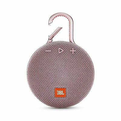 JBL Clip 3 Portable Waterproof Bluetooth Speaker Pink *Authorized Dealer*