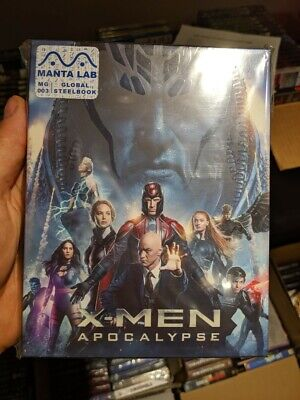X-Men Apocalypse - Manta Lab Exclusive Full Slip (Blu-ray 2D/3D) Steelbook