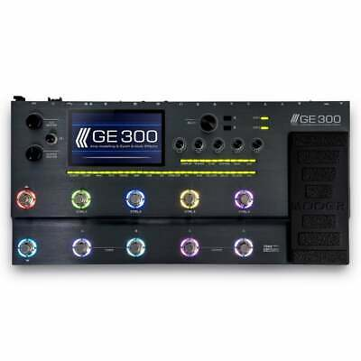 Mooer GE-300 Amp Modeling + Synth + Multi-Effects Electric Guitar Pedal - New !!