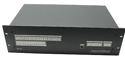 Extron Crosspoint Ultra Series Ultra-Wideband Matrix Switcher with ADSP