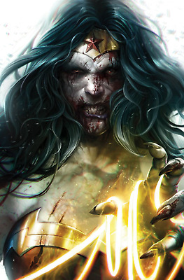 Dceased #3 (Of 6) Card Stock Variant (Dc Comics 2019) - Presale