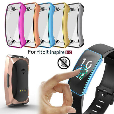 Band Silicone Shell TPU Watch Case Protective Cover For Fitbit Inspire & HR