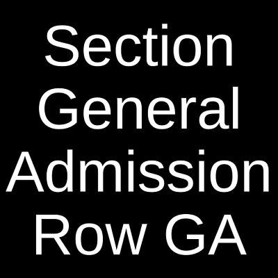 2 Tickets The Band Camino 10/15/19 The Mill & Mine Knoxville, TN
