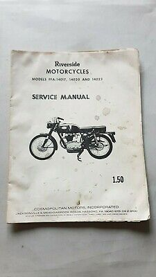 RIverside (Benelli) 250 1964 manuale officina ENGLISH shop manual