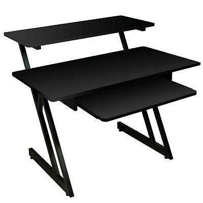On-Stage WS7500B Black Workstation Studio Desk