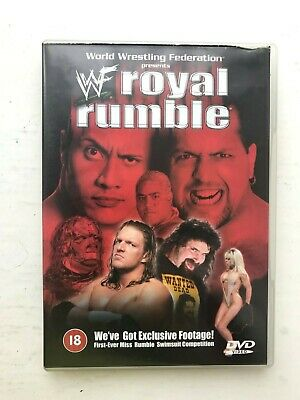 Wwe Wwf Original Dvd Royal Rumble 2000 Wrestling Uk Pal Silver Vision