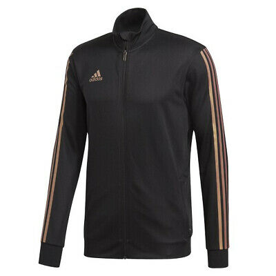 adidas Men's Tiro Track Jacket Black/Nude Pearl Essence DZ8784