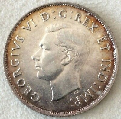 Canada 1939 Fifty Cents EF40