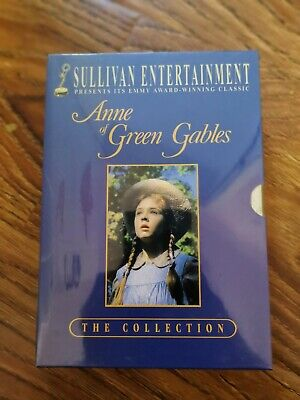 Anne of Green Gables The Collection DVD 3 Movie Boxset New and Sealed