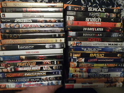 DVD movies assorted. YOU PICK. Good condition! Action, Comedy, ETC.  Combine S/H
