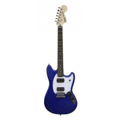 0371220587 - Squier By Fender Bullet Mustang Hh Rw Imperial Blue