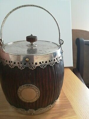 Hukin And Heath Biscuit Barrel