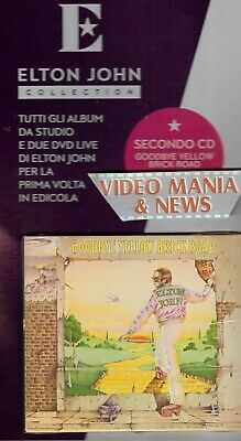 Elton John Collection CD 2 Goodbye yellow brick road . Gazzetta Corriere Sera