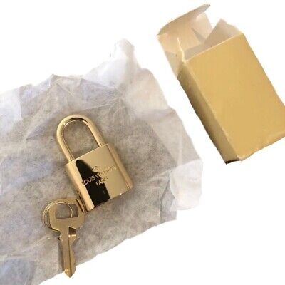 Authentic Brass Louis Vuitton Lv Lock Brand New In Box
