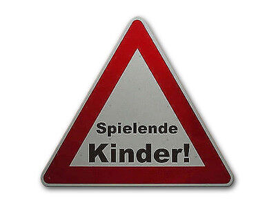 Triangular Traffic Sign: Children Playing! S754