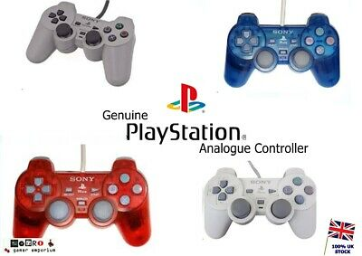 PS1 Playstation 1 PSOne - Official Sony Dual Shock Analog Controller pad TESTED
