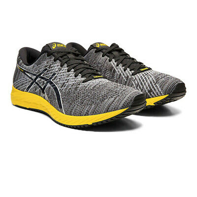 Asics Mens Gel-DS Trainer 24 Running Shoes Trainers - Black Grey Yellow Sports