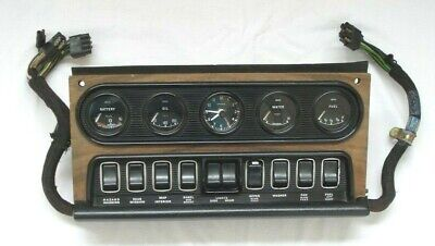 Daimler / Jag Mk2  Complete Centre Dash Consul With Clocks / Switches