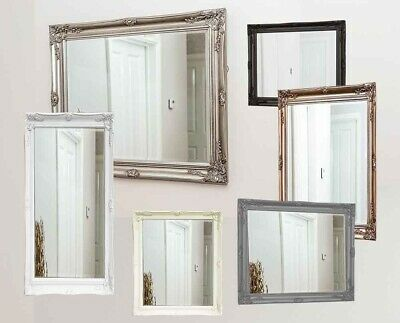 Antique Style Ornate Mirror Shabby Chic Mirrors Vintage Large Huge Small