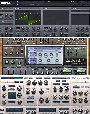 27,000+ XFER SERUM Synth Presets - LOGIC ABLETON FL STUDIO CUBASE