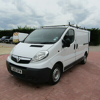2009 Vauxhall Vivaro 2700 Cdti Swb Direct Ex Council 1 Owner Van 92K Miles