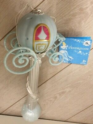 BUBBLE BLOWER CENDRILLON / Souffleur Bulles Savon Cinderella Disneyland Paris
