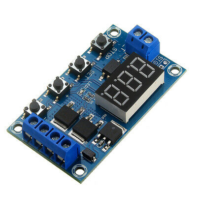 XY-J04 Trigger Cycle Time Delay Switch Circuit  Double MOS Tube Control Board R